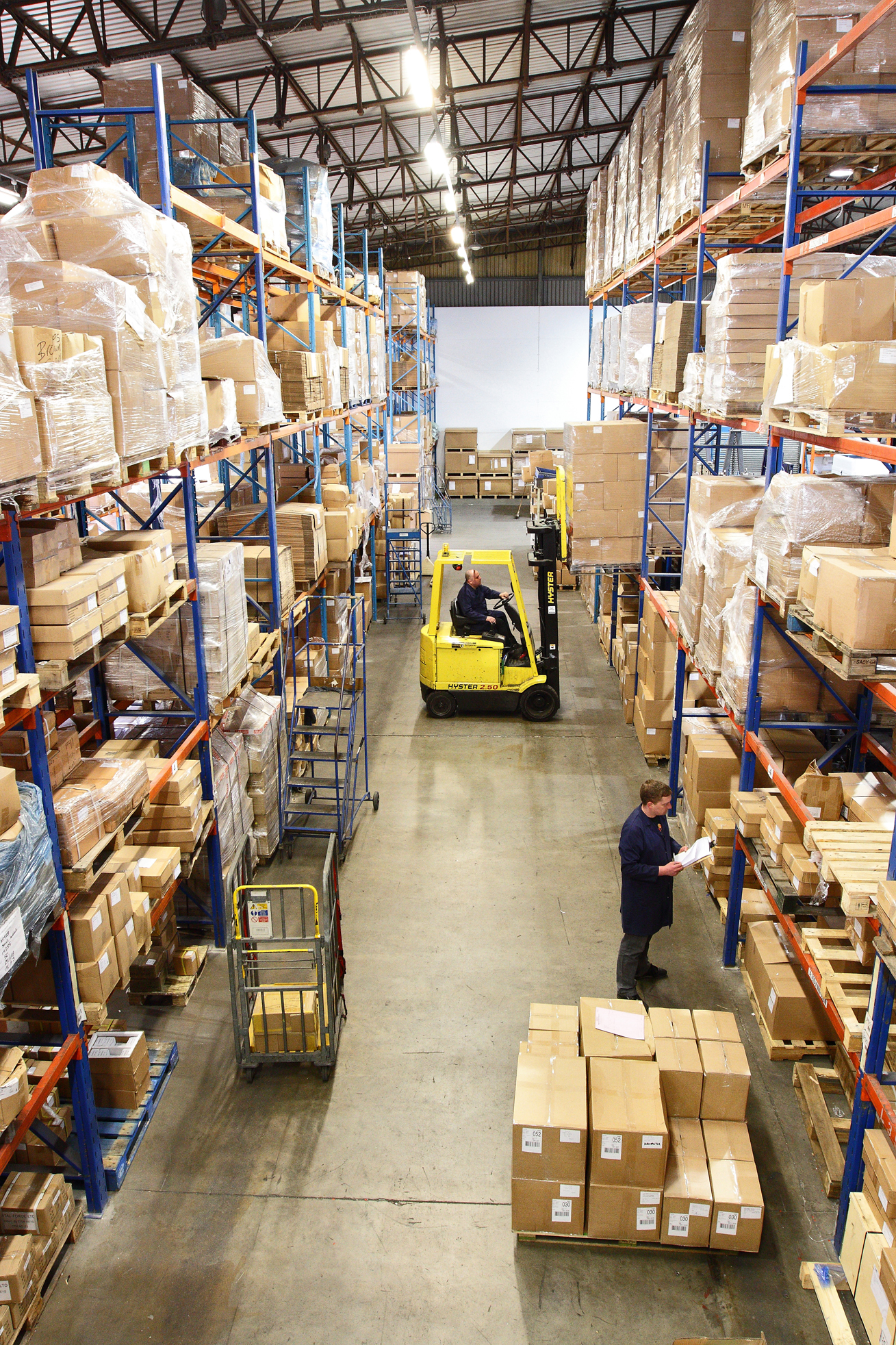 Our warehouse in action